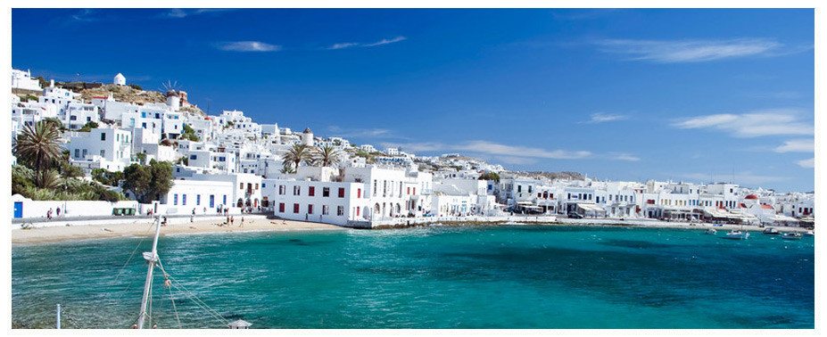Though there are many Greek islands, the Cyclades island of Mykonos is one of the most famous and popular, and attracts huge numbers of travellers each year who come to Mykonos for enjoyable and fun holidays in the sun