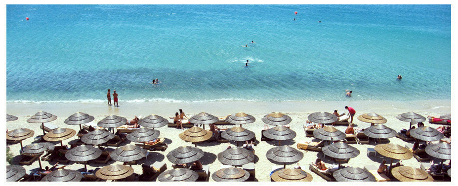 Mykonos is home to some fantastic beaches such as the Super Paradise beach, which attracts huge numbers of people each summer. The beautiful beaches you can find on Mykonos are perfect for swimming, water sports and relaxing