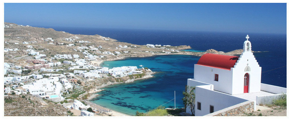 The island of Mykonos is one of great charm and beauty, and there are many wonderful locations all around Mykonos where you can enjoy some fantastic scenery and panoramic views stretching out over the island and the sea